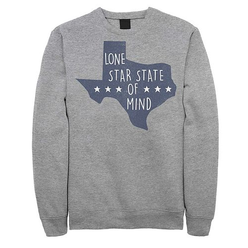 Juniors' Fifth Sun Texas Lone Star State Of Mind Fleece Sweatshirt