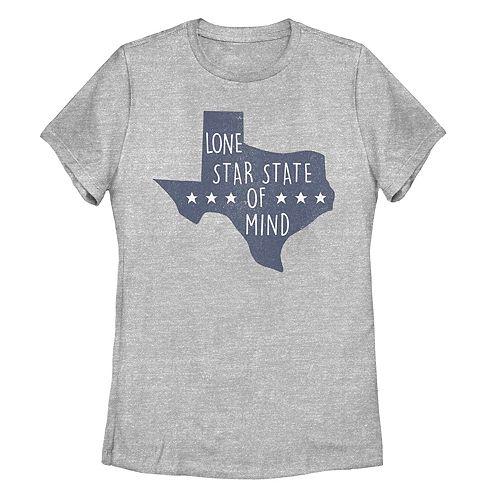 """Juniors' Fifth Sun Texas """"Lone Star State Of Mind"""" Graphic Tee"""