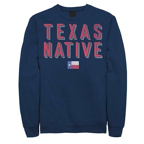 """Juniors' Fifth Sun """"Texas Native"""" Fleece Top"""