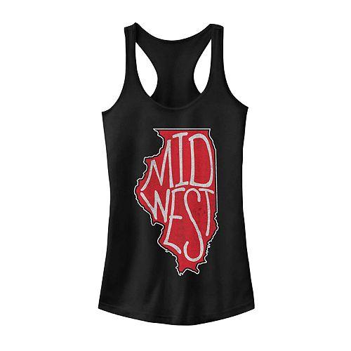 """Juniors' Fifth Sun """"Midwest"""" Illinois Tank"""