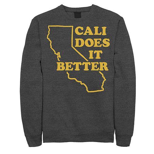 """Juniors' Fifth Sun """"Cali Does It Better"""" Fleece Top"""