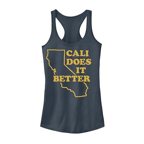 "Juniors' Fifth Sun ""Cali Does It Better"" Tank"