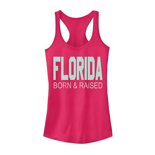 Juniors' Fifth Sun Florida Born & Raised Tank Top