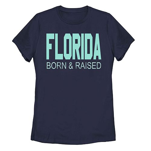 Juniors' Fifth Sun Florida Born & Raised Tee Shirt