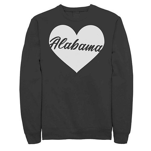 Juniors' Alabama Heart Fleece Sweater