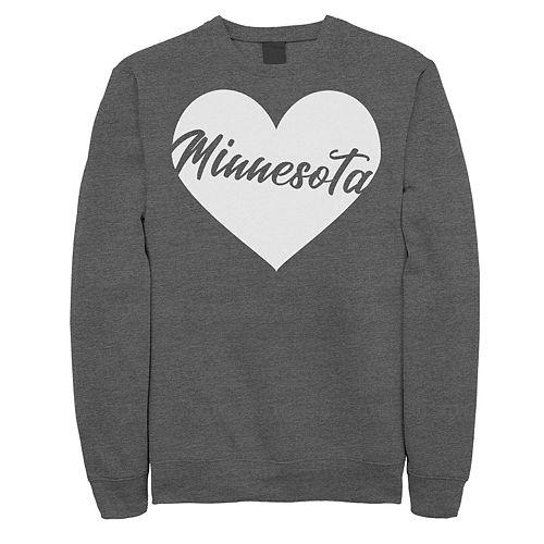 Juniors' Minnesota Heart Fleece