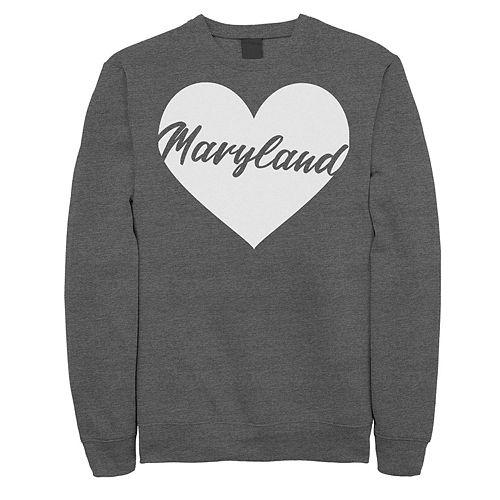 Juniors' Maryland Heart Fleece