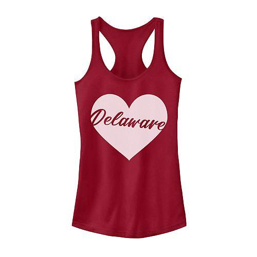 Juniors' Fifth Sun Delaware Heart Tank