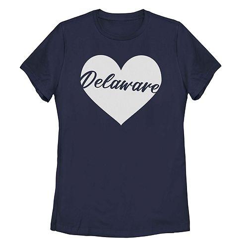 Juniors' Fifth Sun Delaware Heart Tee Shirt