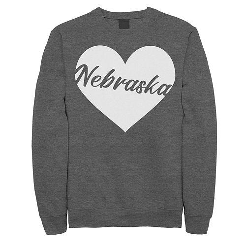 Juniors' Fifth Sun Nebraska Heart Fleece