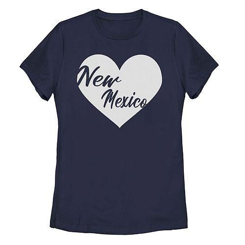 Juniors' Fifth Sun New Mexico Heart Tee Shirt