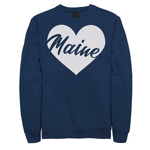 Juniors' Fifth Sun Maine Heart Fleece