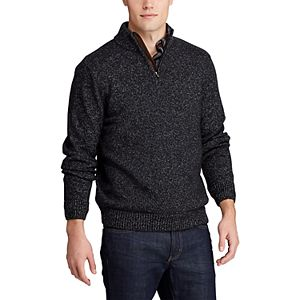 Men's Chaps Classic-Fit Zip Neck Sweater