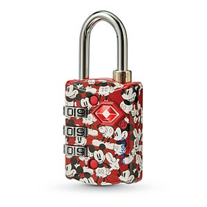 American Tourister Disney's Mickey/Minnie Mouse Luggage Lock