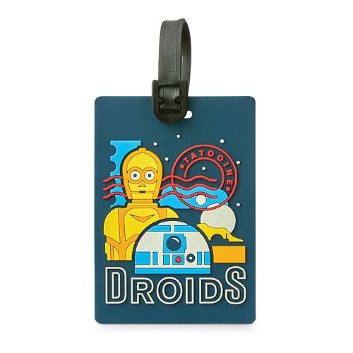 American Tourister Star Wars: Droids Luggage ID Tag