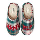Women's Dearfoams Mama Elf Clog Slippers