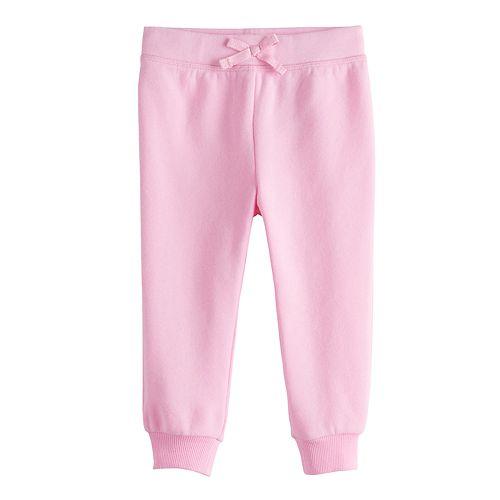 Baby Girl Jumping Beans® Fleece Jogger Pants