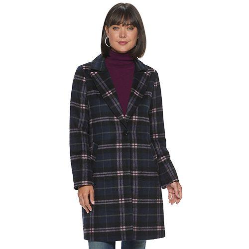 Women's Apt. 9® One-Button Long Coat