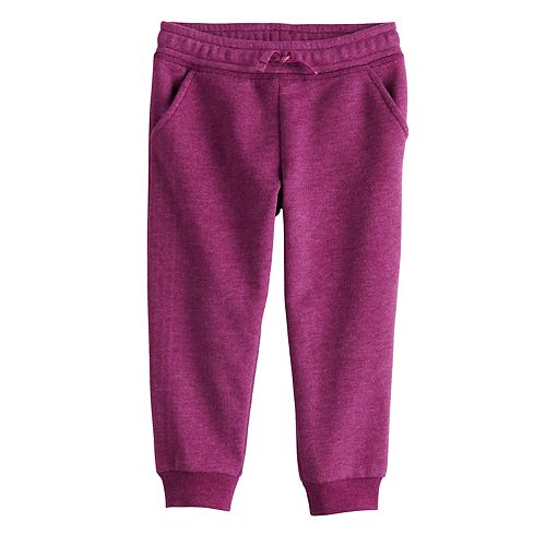 Toddler Girl Jumping Beans® Fleece Jogger Pants