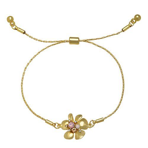 LC Lauren Conrad Flower Adjustable Bracelet