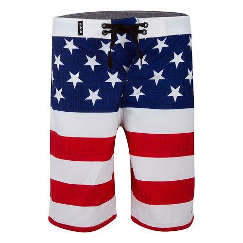 Boys 8-20 Hurley American Flag Boardshorts