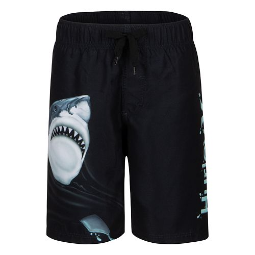Boys 8-20 Hurley Hurricanes Shark Attack Boardshorts