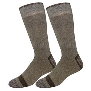 Men's Croft & Barrow 2-pack Tech Wool Crew Socks