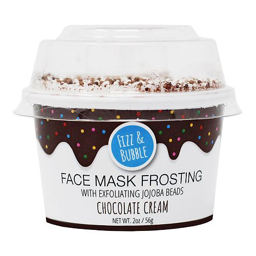 Fizz & Bubble Chocolate Cream Face Mask Frosting