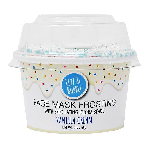 Fizz & Bubble Vanilla Cream Face Mask Frosting