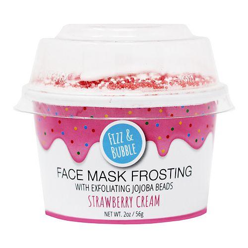 Fizz & Bubble Strawberry Cream Face Mask Frosting