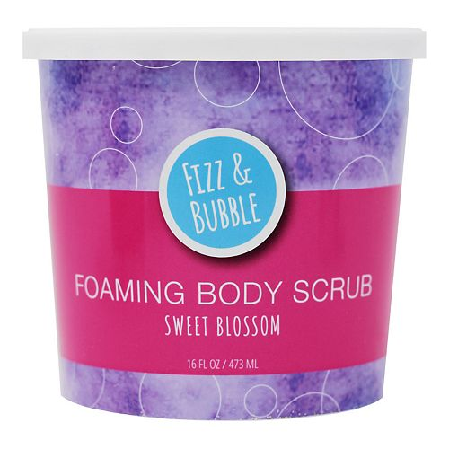 Fizz & Bubble Sweet Blossom Foaming Body Scrub
