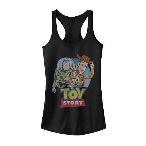 Juniors' Disney Pixar Toy Story Buzz And Woody Friends Tank