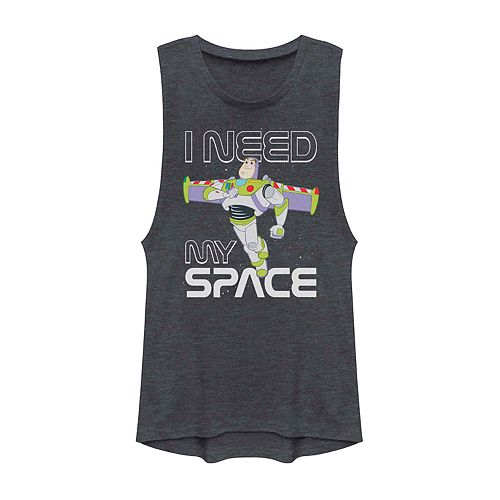 Juniors' Disney Pixar Toy Story Buzz Lightyear I Need Space Muscle