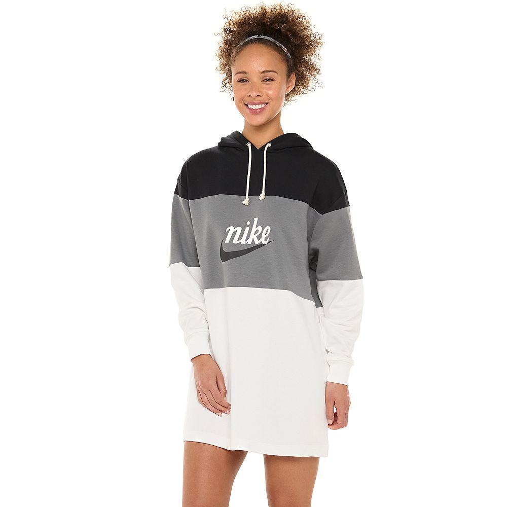 Women's Nike Varsity Colorblock Hooded Dress
