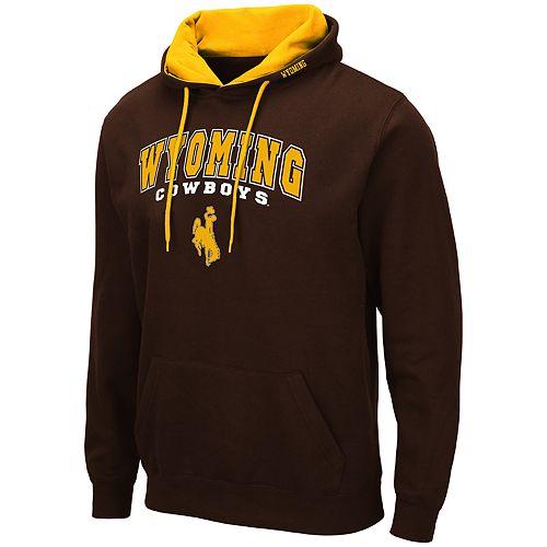Men's NCAA Wyoming Cowboys Pullover Hooded Fleece