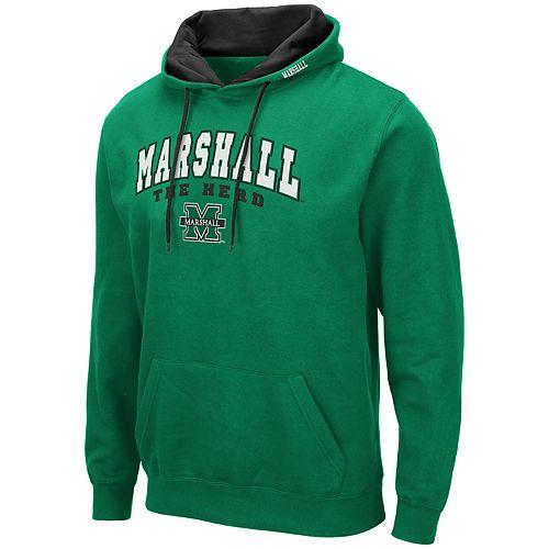 Men's NCAA Marshall Thundering Herd Pullover Hooded Fleece