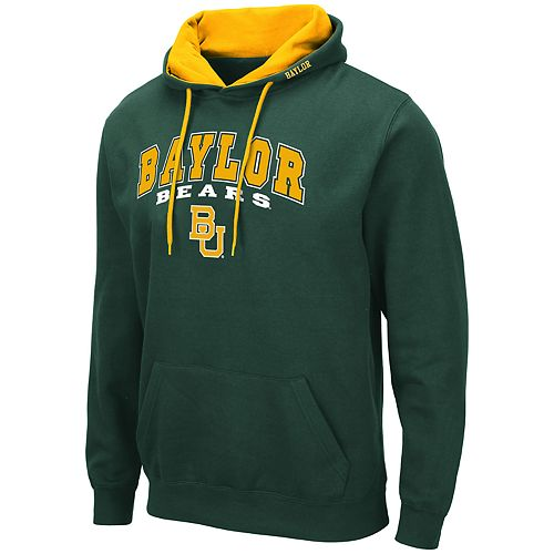 Men's NCAA Baylor Bears Pullover Hooded Fleece