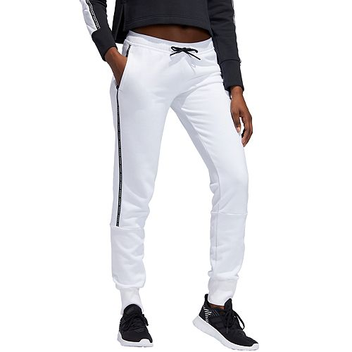 Women's adidas Linear Taping Logo Fleece Pants