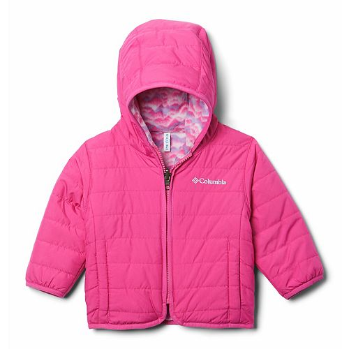 Baby Girl Columbia Double Trouble Reversible Jacket