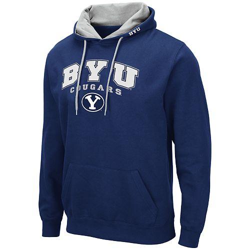 Men's NCAA BYU Cougars Pullover Hooded Fleece