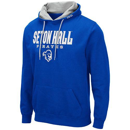 Men's NCAA Seton Hall Pirates Pullover Hooded Fleece