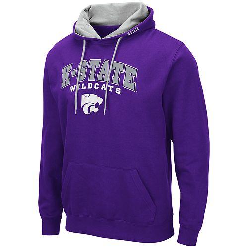 Men's NCAA Kansas State Wildcats Pullover Hooded Fleece