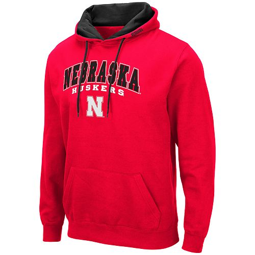 Men's NCAA Nebraska Huskers Pullover Hooded Fleece