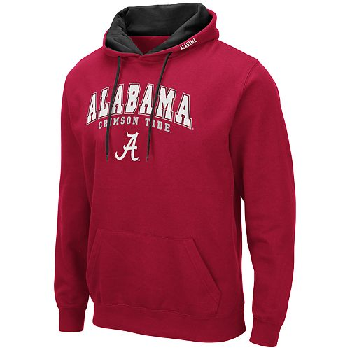 Men's NCAA Alabama Crimson Tide Fleece Pullover Hoodie