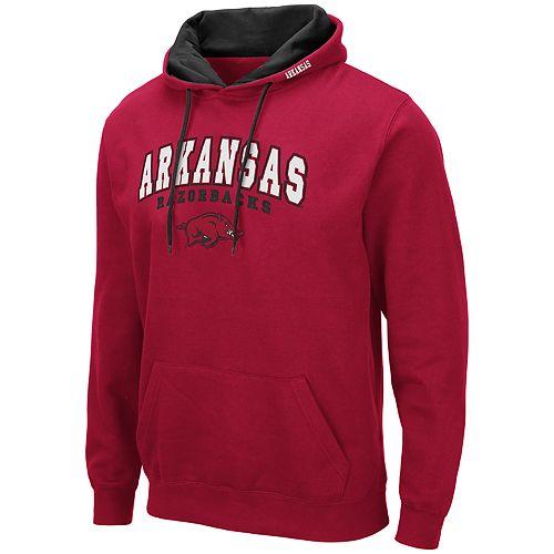Men's NCAA Arkansas Razorbacks Fleece Pullover Hoodie