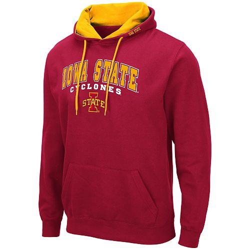 Men's NCAA Iowa State Cyclones Pullover Hooded Fleece