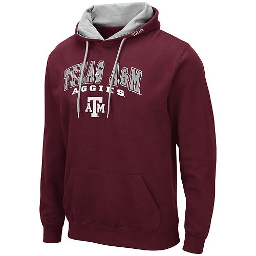 Men's NCAA Texas A&M Aggies Pullover Hooded Fleece