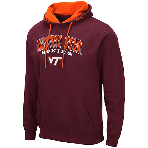 Men's NCAA Virginia Tech Hokies Pullover Hooded Fleece