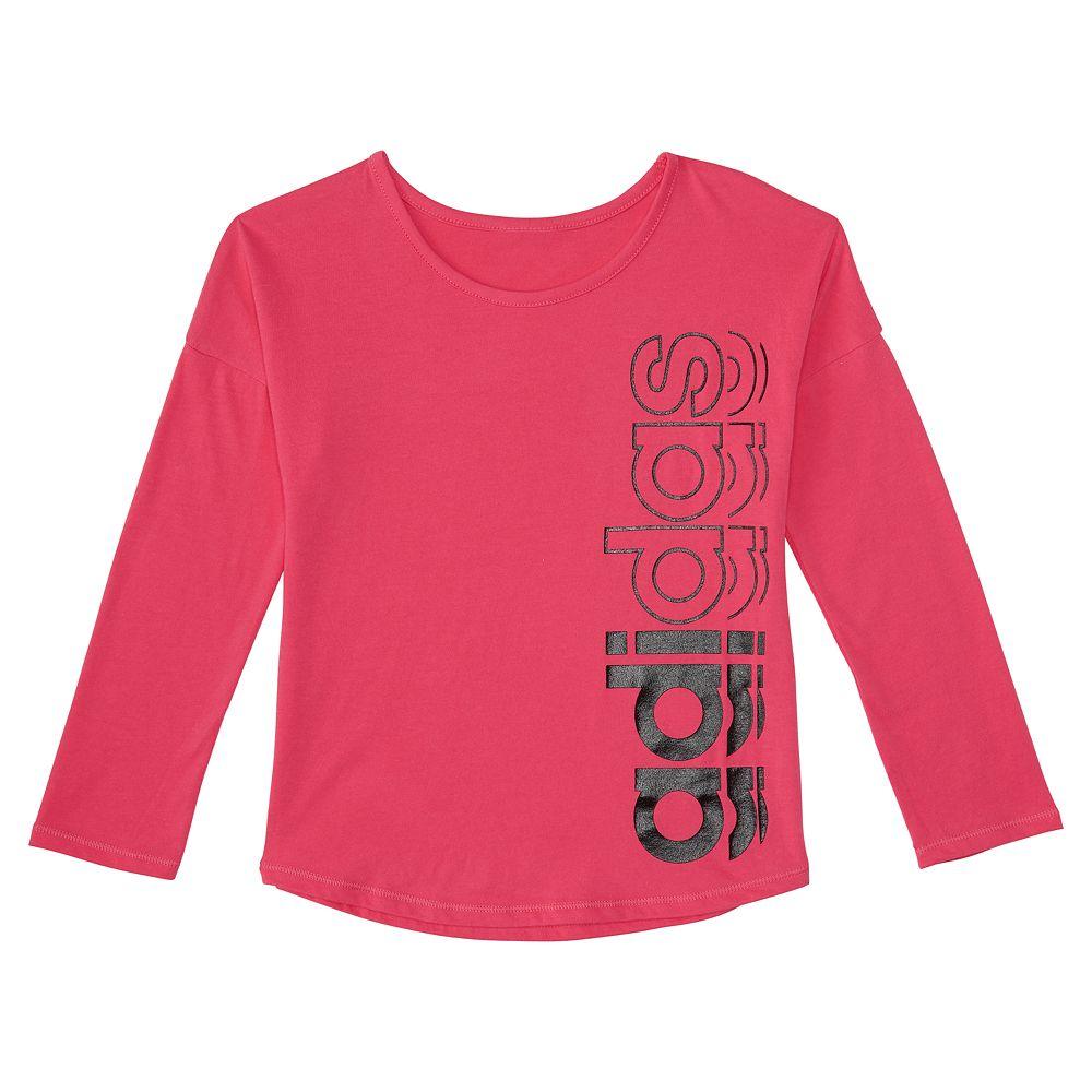 Toddler Girl adidas Drop-Shoulder Graphic Tee