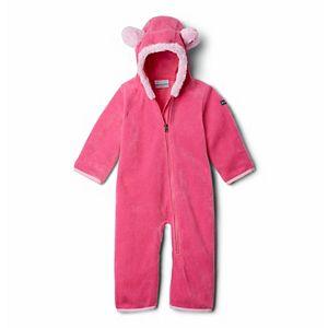 Baby Girl Columbia Fleece Bunting